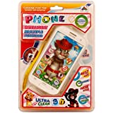 Tejas-Talking Tom Interactive Learning Tablet White/Black