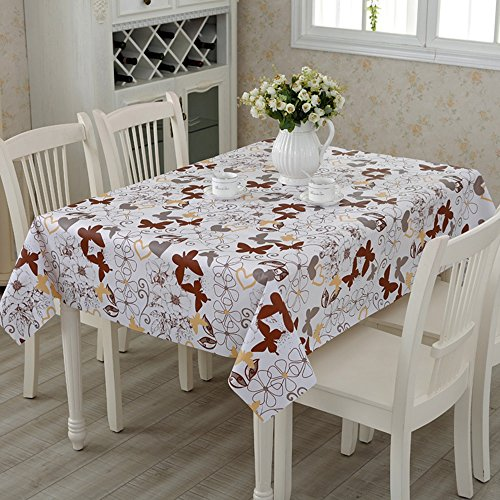 Flashing- Nordic Simplicité PVC Imperméable Nappe Salon Table Basse Quatre Saisons Table À Manger Table Tapis ( taille : 138*220cm )