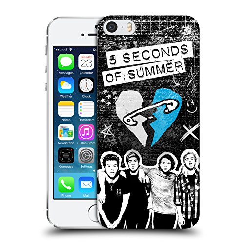 official-5-seconds-of-summer-grunge-blue-safety-pin-heart-hard-back-case-for-apple-iphone-5-5s-se