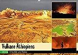 Vulkane Äthiopiens - Erta Ale und Dallol (Wandkalender 2019 DIN A2 quer): Vulkane im Rausch der Farben (Monatskalender, 14 Seiten ) (CALVENDO Natur) -