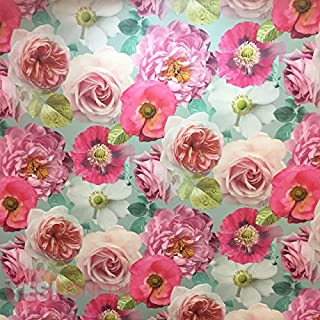Flower Floral Country Garden Wallpaper Heavyweight Roses Multicoloured Arthouse