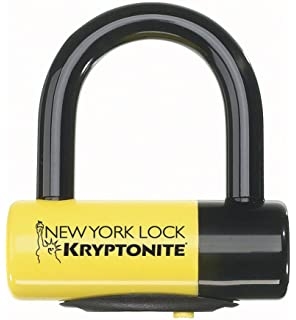 Kryptonite New York Chain 1210 Bicycle Lock with Evolution Series-4 14mm Bike Disc Lock 06484M07