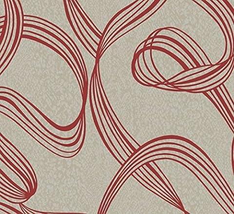 Decorline ruban Swirl Wallpaper - DL30638
