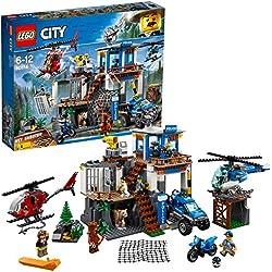 Lego City Police-Quartier Generale della Polizia di Montagna, 60174