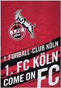 1 FC K/öln Biber Bettw/äsche Skyline rot 4030185