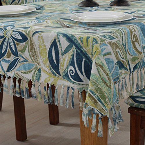 Tischdecken LINGZHIGAN Stoff Baumwolle Hanf Tuch Art Einfache rechteckige Tee Tisch Hochzeit Restaurant Party Tisch (Dieses Produkt verkauft) (größe : 135 * 180cm)
