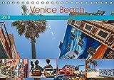 Venice Beach: bunt - verrückt - einzigartig (Tischkalender 2019 DIN A5 quer): Erleben sie das farbenfrohe Venice Beach in Kalifornien (Monatskalender, 14 Seiten ) (CALVENDO Orte)
