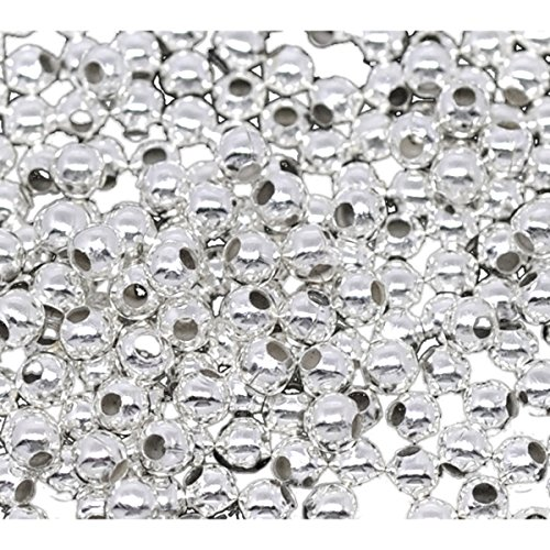 1000Pcs Plated Spacer Jewelry Findings