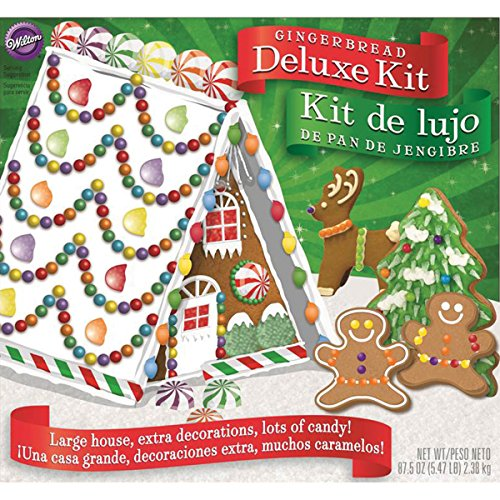 Wilton Deluxe A Frame Gingerbread House Kit
