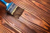 BEKATEQ 2,5L Holzlasur farbig aussen innen für Möbel Gartenhaus | UV-stabil - atmungsaktiv (Farblos)