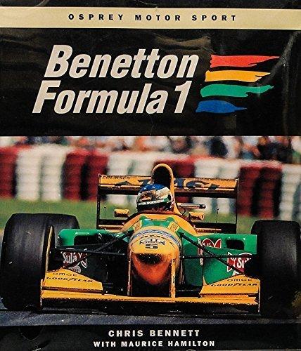 Benetton Formula 1 (Osprey Motor Sport) by Bennett, Chris, Hamilton, Maurice (1994) Paperback par Chris, Hamilton, Maurice Bennett