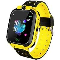 Fancylande Q12B Smartwatch per Bambini con Localizzatore GPS Kids Smart Anti-Perso Polsino Impermeabile Posizionamento…
