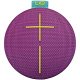 Ultimate Ears ROLL 2 Enceinte Bluetooth Ultraportable avec Flotteur, Waterproof et Antichoc - Violet/aqua/jaune