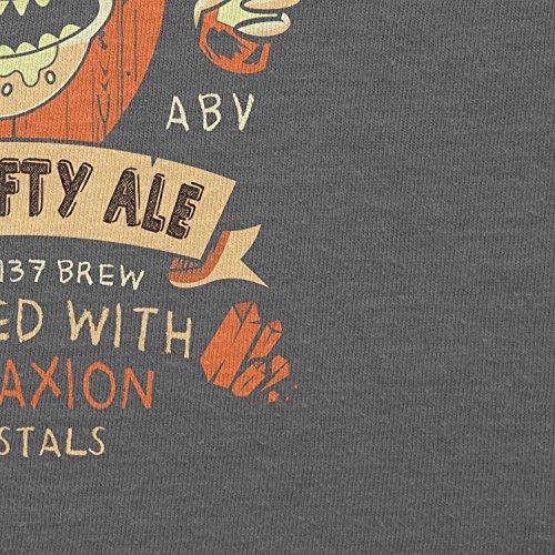 NERDO - Crazy Rick's Schwifty Ale - Damen T-Shirt Grau