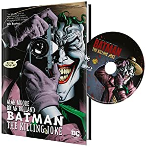 DCU Batman: The Killing Joke inkl. Hardcover Panini Comic (exklusiv bei Amazon.de) [Blu-ray] [Limited Edition]