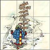 Fliesenwandbild - Easy Decision - von Gary Patterson - Küche Aufkantung / Bad Dusche