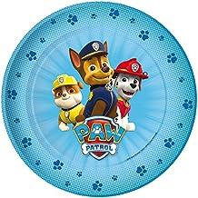 Set 8 platos fiesta Patrulla Canina Paw Patrol