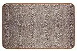 Lonior SchmutzfangmatteFussmatte Innen Rutschfest Türmatte aus Mikrofaser Waschbar Fussabtreter Fussabstreifer Fußmatte für Innenbereich Magic Absorbierend 80x50cm