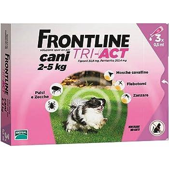 FRONTLINE TRI-ACT KG. 2-5 (3P) Cartomatica Confezione da 1PZ