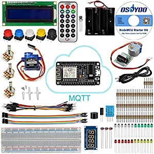 KOOKYE NodeMCU IOT Starter Kit Based on ESP8266 Support WiFi MQTT and Arduino IDE