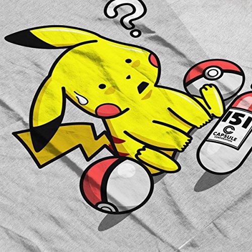 What The Poke Pikachu Pokemon Akira Women's T-Shirt Heather Grey