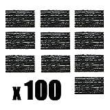 100 Reifenreparatur Platten Reifen Satz Flicken AutoReifen Set LKW PKW Flickzeug Pannenset Motorrad
