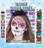 Ars-Bavaria Calavera Hi Monster. Sugar Skull profesional de Aqua de maquillaje Halloween Niños Maquillaje