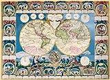Clementoni 31966.4 -  Mappa Antica 1500 teilig