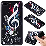 Nancen Case Apple iPhone 7 Plus/8 Plus (5,5 Zoll) Gemaltes Muster Handy Hülle Weich TPU Silikon Case