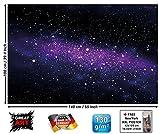GREAT ART Papier Peint Photo d'une Galaxie - Image Murale avec Une Vue de l'éspace - décoration Murale Que Montre Le Ciel étoilé 140 cm x 100 cm