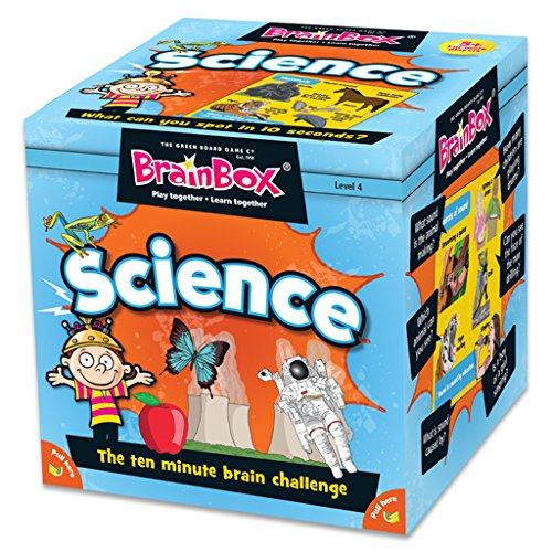 Green Board Games 90046 BrainBox Science