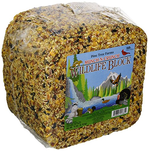 Pine Block (Pine Tree Farms Munch-n-crunch Wildlife Block 15 Pounds - 1385)