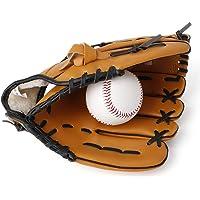 Gant /à Base-Ball Gants /à Softball Paume Rembourr/ée Durable Gant /à Baseball Ultra-Confortable en Cuir PU 12,5//11,5//10,5 Pouces pour Les Jeunes