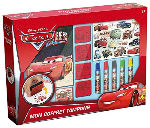 Unbekannt Canal Toys–ct04605–Kreativset–Cars–Coffret Stempel