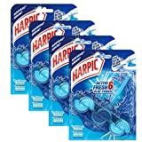 Harpic Bloc Cuvette Active Fresh Eau Bleue - Lot de 4