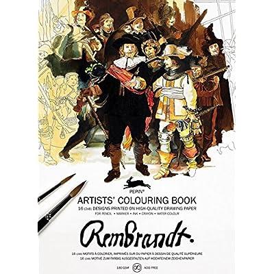 Rembrandt : Livret de coloriage