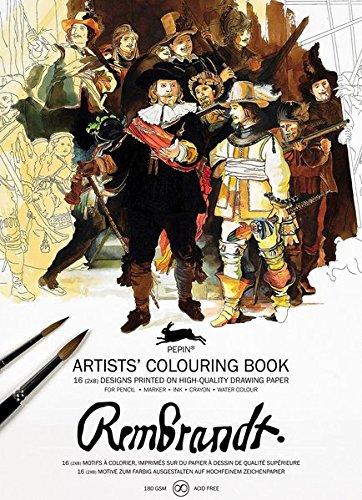 Rembrandt: Artists' Colouring Book par Pepin Van Roojen