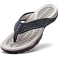 Yukefeng Tongs Homme Sandales de Sports Flip Flop Chaussures de Plage et Piscine Antidérapant