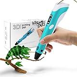 StillCool 3D Stift 3D Drucker Stift DIY Scribbler 3D Stereoscopic Printing Pen mit LCD als kreatives Geschenk für…