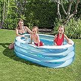 LPC Sommer Planschbecken Ovale Wanne Kinder PVC Aufblasbaren Pool Im Freien 163 * 107 * 46CM Mode