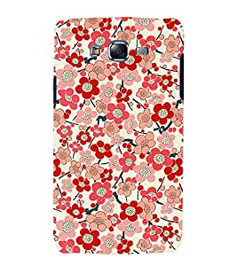 Bloomy Flowers 3D Hard Polycarbonate Designer Back Case Cover for Samsung Galaxy J5 (2015) :: Samsung Galaxy J5 J500F (Old Version)