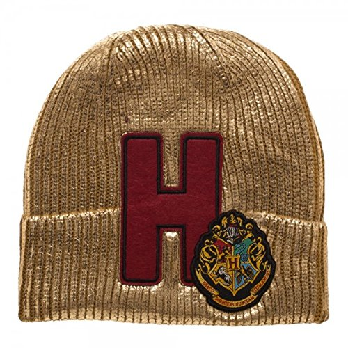 Harry-Potter-Hogwarts-Metallic-Acrylic-Coated-Beanie-Hat