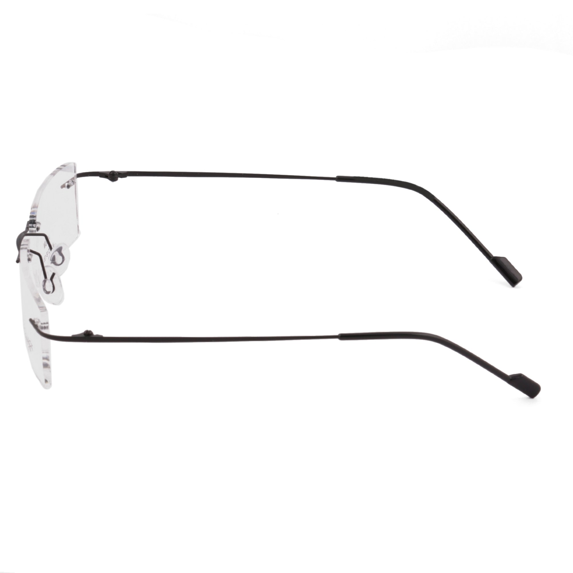 6d60c8e389 Royal Son Rimless Rectangular Spectacle Frame For Men And Women ...