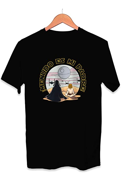 Camiseta Menudo es Mi Padre Dia del Padre Star Wars Darth ...