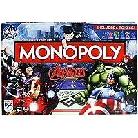 Hasbro B0323 – Monopoly - Marvel Avengers - Brettspiel (Englische Variante) [UK Import]