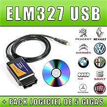 ELM327 USB - Interfaz de diagnóstico multimarca