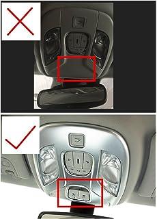 Head Light Lampe Formen 2018/2/nd Gen ABS Chrom 2//Set Zierteile f/ür Jeep Compass 2017