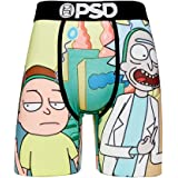 PSD Underwear Men's Stretch Wide Band Boxer Brief Underwear - Rick & Morty