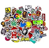 JER Miglior Pacco Adesivi in Vinile Per Macbook Laptop Tavola da snowboard Bagagli iPhone Valigia Car Bike Adesivo Confezione Art Retro Graffiti Super Cool Decal Stickers Pack