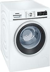Siemens iQ700 WM14W5A1 iSensoric Premium Waschmaschine / A+++ / 1400 UpM / 8 kg / Weiß / Nachlegefunktion / Antiflecken System / Super15